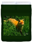 Fox Trot Duvet Cover