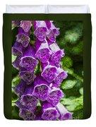 Foxgloves Textured Duvet Cover