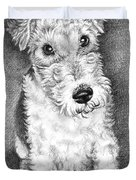 Foxterrier Duvet Cover