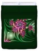 Fractal Abstract Dreamy Garden Duvet Cover