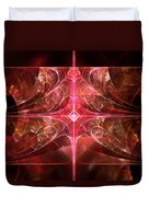 Fractal - Abstract - The Essecence Of Simplicity Duvet Cover