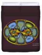 Fractal Art Egg Duvet Cover