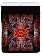 Fractal - Aztec - The Aztecs Duvet Cover