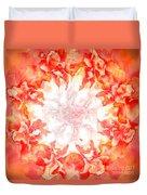 Fractal Carnation Duvet Cover
