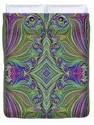 Fractal Cross Duvet Cover