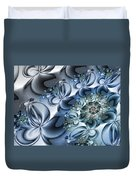 Fractal Dancing The Blues Duvet Cover
