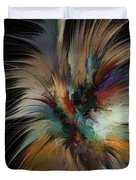 Fractal Feathers Duvet Cover