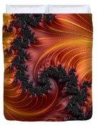 Fractal Heat - A Fractal Abstract Duvet Cover