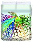 Fractal - Hummingbird Duvet Cover