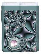 Fractal Jewellery Duvet Cover