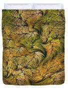 Fractal Leaf Mat-- 2 Duvet Cover