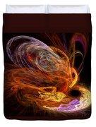 Fractal - Rise Of The Phoenix Duvet Cover