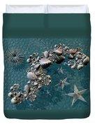 Fractal Sea Life Duvet Cover