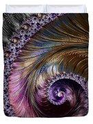 Fractal Spiral 2 - A Fractal Abstract Duvet Cover