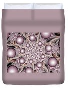 Fractal Stars Duvet Cover