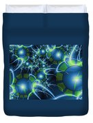 Fractal Time Travel Duvet Cover
