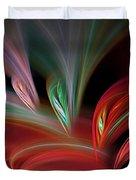 Fractal Vortex Swirl Duvet Cover