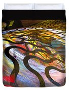 Fractals - Snake Duvet Cover