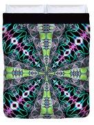 Fractalscope 24 Duvet Cover
