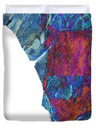 Fracture Section Xiii Duvet Cover