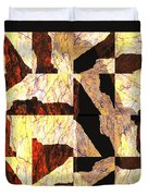 Fractured Overlay Il Duvet Cover