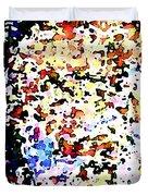 Fragments Duvet Cover