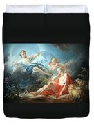 Fragonard's Diana And Endymion Duvet Cover