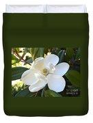 Fragrant Magnolia Duvet Cover