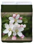 Framed Apple Blossom Duvet Cover