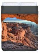 Framed Canyon Duvet Cover