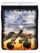 Frampton Comes Alive Duvet Cover