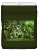 Frampton Plantation House Duvet Cover