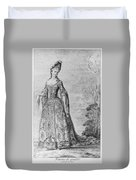 France Fashionable Lady Duvet Cover