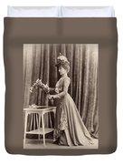 France Woman, C1895 Duvet Cover