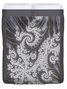 Franciful Frost  Duvet Cover