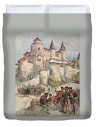 Francis I Held Prisoner In A Tower Duvet Cover