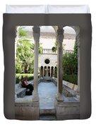Franciscan Monastery Duvet Cover