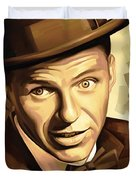 Frank Sinatra Artwork 2 Duvet Cover