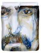Frank Zappa Watercolor Portrait.2 Duvet Cover