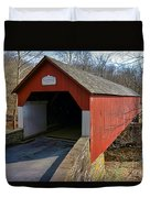 Frankenfield Covered Bridge Duvet Cover