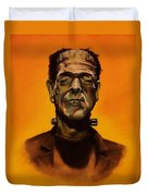 Frankenstein's Monster Duvet Cover