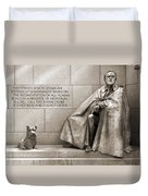 Franklin Delano Roosevelt Memorial - Bits And Pieces 7 Duvet Cover