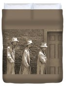 Franklin Delano Roosevelt Memorial - Bits And Pieces1 Duvet Cover by Mike McGlothlen