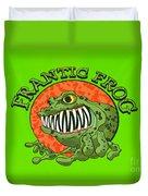 Frantic Frog Duvet Cover
