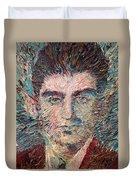 Franz Kafka Oil Portrait Duvet Cover