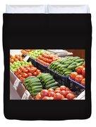 Frash Fruit And Vegetables Duvet Cover