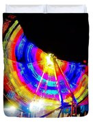 Freak Out ... Electric Rainbow Duvet Cover