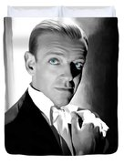 Fred Astaire Portrait Duvet Cover