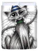 Fred The Cat Duvet Cover