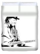 Freddy And His Guitar Duvet Cover